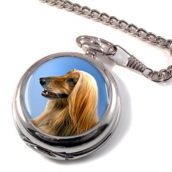Afghan Hound Pocket Watch