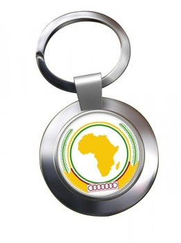 African-Union Metal Key Ring