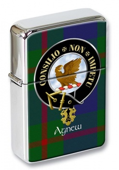 Agnew Scottish Clan Flip Top Lighter