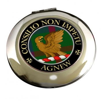 Agnew Scottish Clan Chrome Mirror