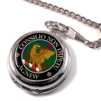 Agnew Scottish Clan Pocket Watch