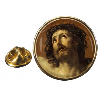 Agony of Christ Round Pin Badge