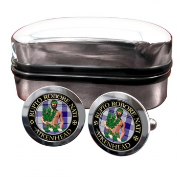 aikenhead Scottish Clan Round Cufflinks
