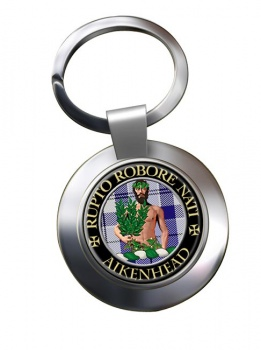 aikenhead Scottish Clan Chrome Key Ring