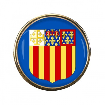 Aix-en-Provence (France) Round Pin Badge