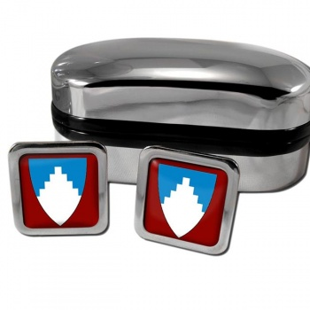 Akershus Norway Square Cufflinks