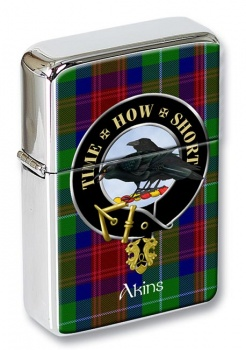 Akins Scottish Clan Flip Top Lighter