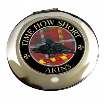 Akins Scottish Clan Chrome Mirror