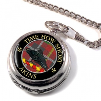 Akins Scottish Clan Pocket Watch