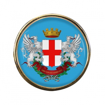 Alessandria (Italy) Round Pin Badge