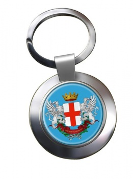 Alessandria (Italy) Metal Key Ring