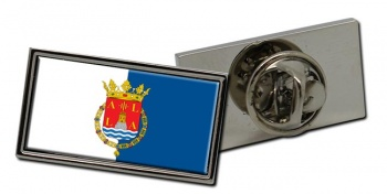 Alicante Ciudad (Spain) Flag Pin Badge