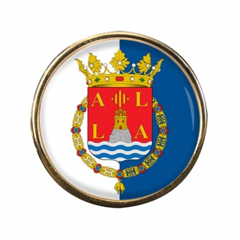 Alicante Ciudad (Spain) Round Pin Badge