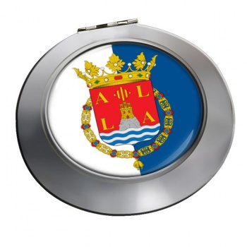 Alicante Ciudad (Spain) Round Mirror