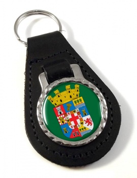 Almeria (Spain) Leather Key Fob