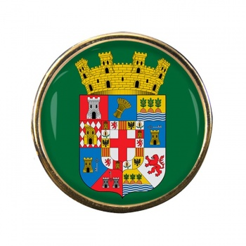 Almeria (Spain) Round Pin Badge