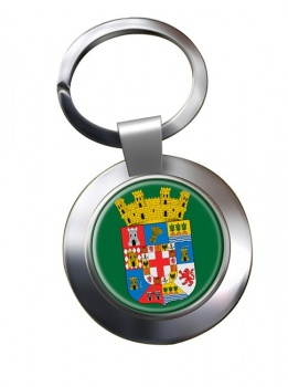 Almeria (Spain) Metal Key Ring