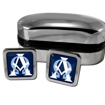 Alpha Omega Square Cufflinks