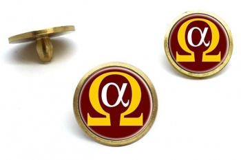 Alpha Omega Golf Ball Markers
