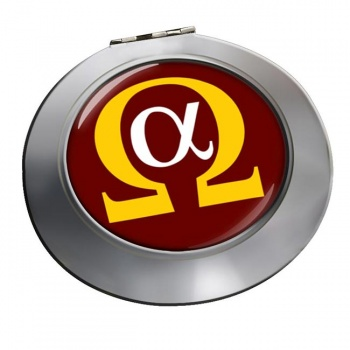 Alpha Omega Chrome Mirror