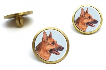 German Shepherd  Golf Ball Marker Set