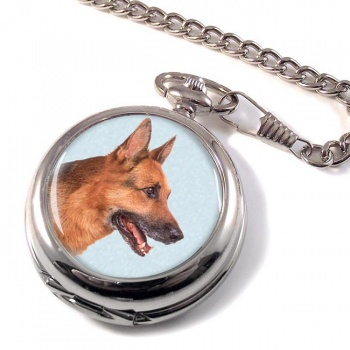 German Shepherd Pocket Watch