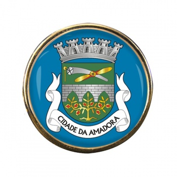 Amadora (Portugal) Round Pin Badge