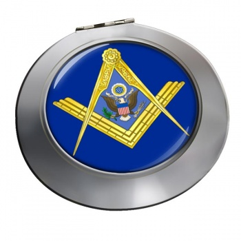 American Masons Masonic Chrome Mirror