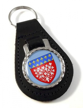 Amiens (France) Leather Key Fob