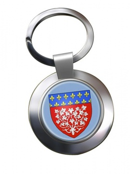 Amiens (France) Metal Key Ring