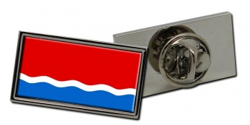 Amur Oblast Flag Pin Badge
