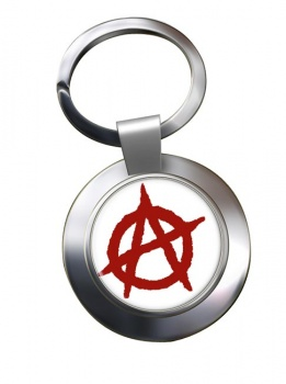 Anarchy Chrome Key Ring