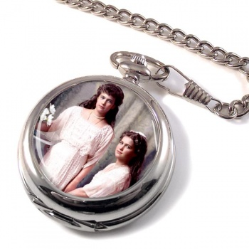 Anastasia and Maria Pocket Watch