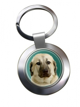 Anatolian Shepherd Metal Key Ring