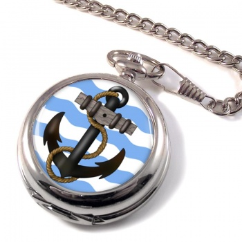 Ship's Anchor Pocket Watch
