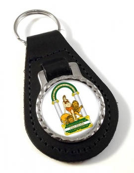 Andalusia Andalucia (Spain) Leather Key Fob