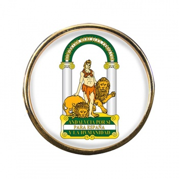 Andalusia Andalucia (Spain) Round Pin Badge