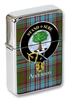 Anderson Scottish Clan Flip Top Lighter