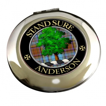 Anderson Scottish Clan Chrome Mirror