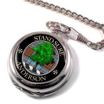 Anderson Scottish Clan Pocket Watch