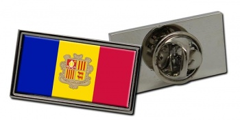 Andorra Flag Pin Badge