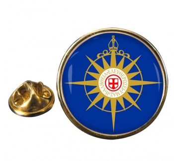 Anglican Communion Round Pin Badge