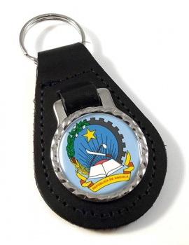 Angola Leather Key Fob