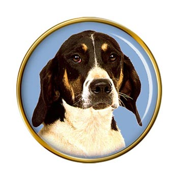 American Foxhound Pin Badge