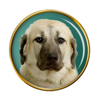 Anatolian Shepherd Dog Pin Badge