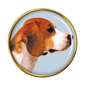 Beagle Pin Badge