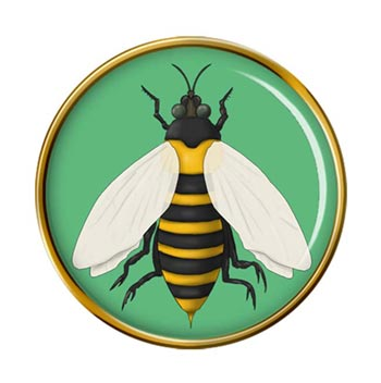 Bumble Bee Pin Badge