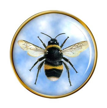 Bumblebee Pin Badge