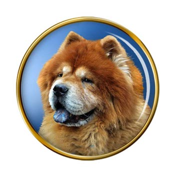 Chow Chow Pin Badge