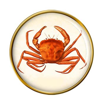 Crab Pin Badge